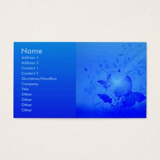 Magic Blue Profile Card