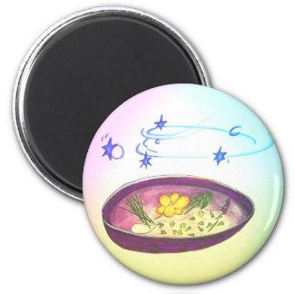 Magic Bowl 6 Cm Round Magnet