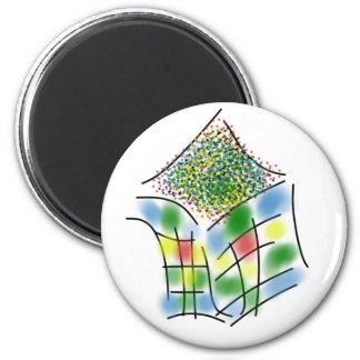 Magic Box 6 Cm Round Magnet
