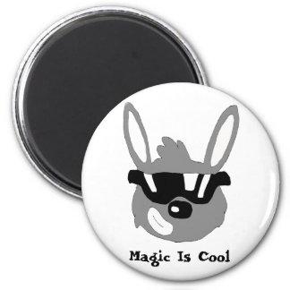 Magic Brawl Cool Rabbit Refrigerator Magnet