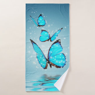 Magic Butterflies Bath Towel