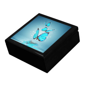 Magic Butterflies Trinket Box