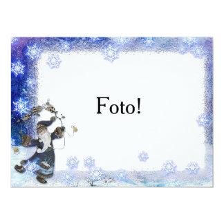 """Magic "" card frame 17 Cm X 22 Cm Invitation Card"