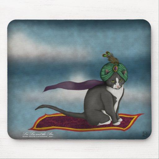 Magic Carpet Cat, mousepad