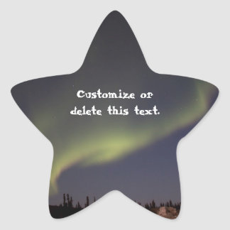 Magic Carpet Ride; Customizable Star Sticker