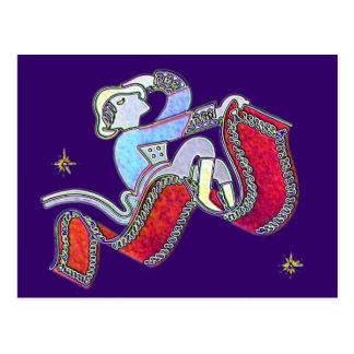 Magic Carpet Ride Postcard
