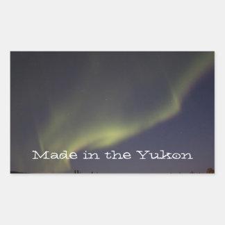 Magic Carpet Ride; Yukon Territory Souvenir Sticker