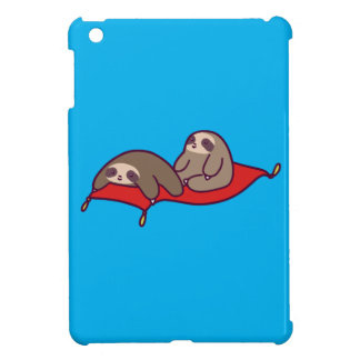 Magic Carpet Sloths iPad Mini Cases