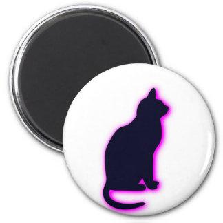 magic cat 6 cm round magnet
