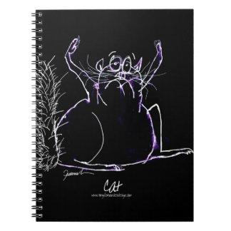 magic cat notebook