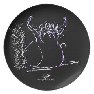 magic cat plate