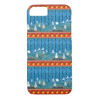Magic Christmas background. iPhone 8/7 Case