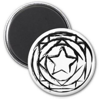 Magic Circle 6 Cm Round Magnet