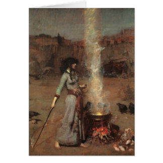 'Magic Circle' Waterhouse Card