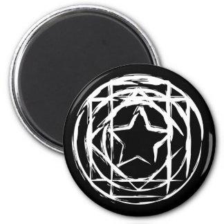 Magic Circle White Magnets
