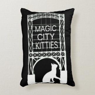 Magic City Kitties Accent Pillow