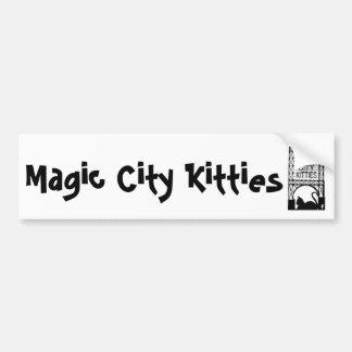 Magic City Kitties Bumper Sticker