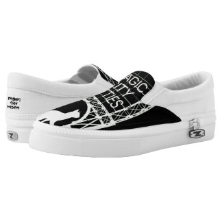 Magic City Kitties Custom Zips Printed Shoes