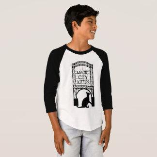 Magic City Kitties kids 3/4 sleeve T-Shirt