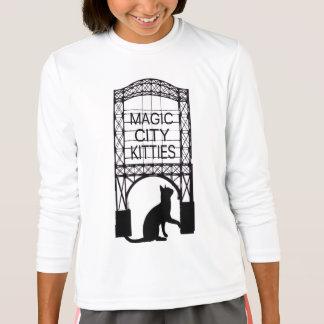 Magic City Kitties Kids Long Sleeve T-shirt