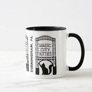 Magic City Kitties Ringer Mug