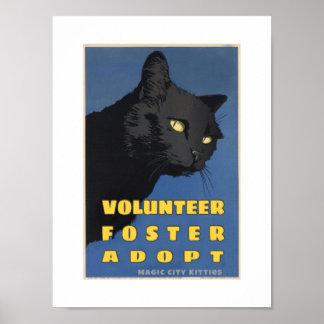 Magic City Kitties WPA Poster