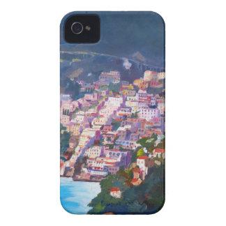 Magic Coastline and Scenery in Amalfi, Italia iPhone 4 Case