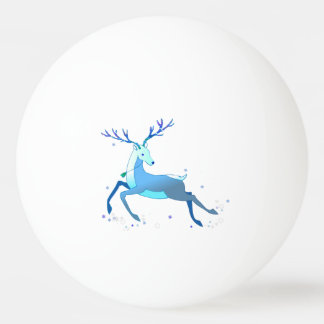 Magic Cute Christmas Deer with bell Ping Pong Ball