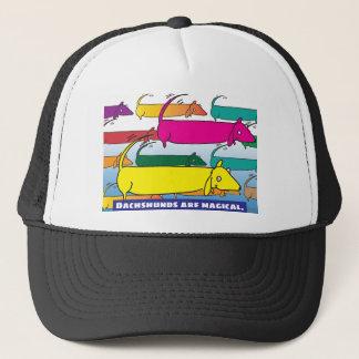 Magic Dachshunds Trucker Hat