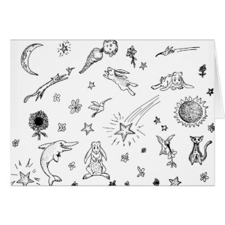 Magic Doodles notecard