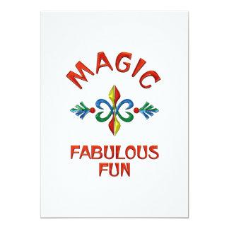Magic Fabulous Fun Cards