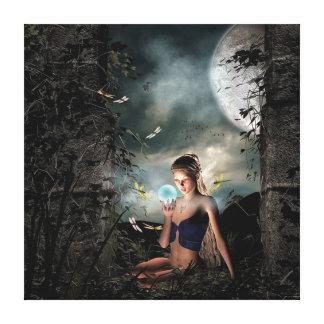 Magic Fairy Canvas Print