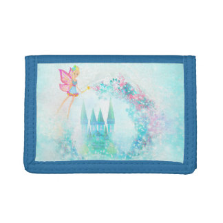 Magic Fairy Tale Princess Castle - Nylon Wallet