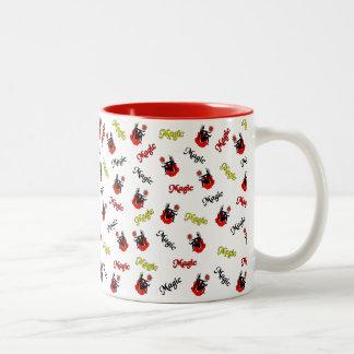 Magic Fairy Two-Tone Coffee Mug