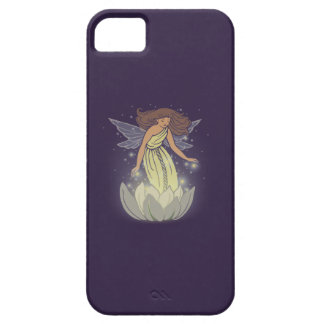 Magic Fairy White Flower Glow Fantasy Art Case For The iPhone 5