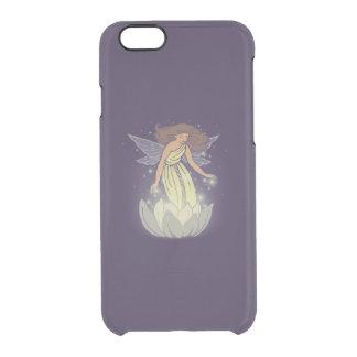 Magic Fairy White Flower Glow Fantasy Art Clear iPhone 6/6S Case