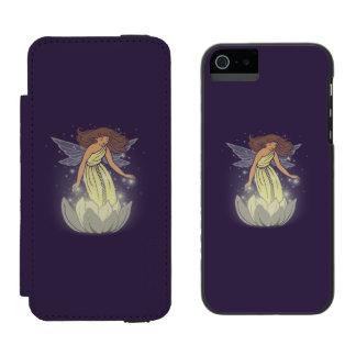 Magic Fairy White Flower Glow Fantasy Art Incipio Watson™ iPhone 5 Wallet Case