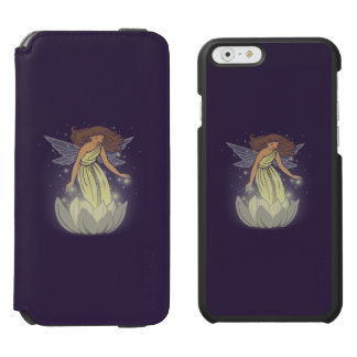 Magic Fairy White Flower Glow Fantasy Art Incipio Watson™ iPhone 6 Wallet Case