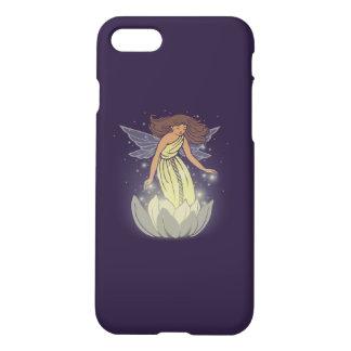 Magic Fairy White Flower Glow Fantasy Art iPhone 7 Case