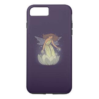 Magic Fairy White Flower Glow Fantasy Art iPhone 7 Plus Case