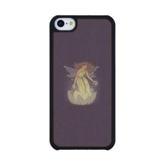 Magic Fairy White Flower Glow Fantasy Art Maple iPhone 5C Slim Case