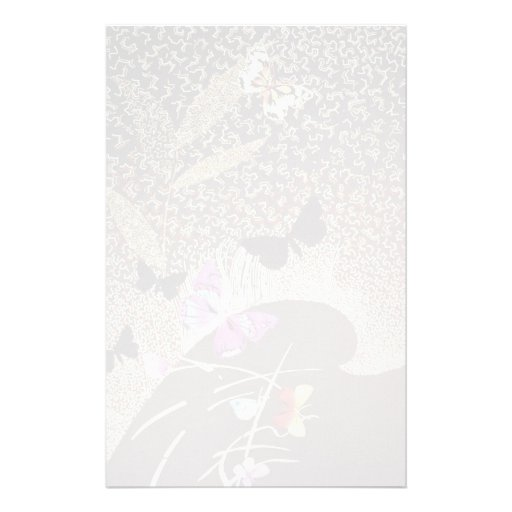 Magic flora stationery design
