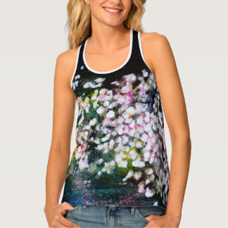 Magic floral night singlet