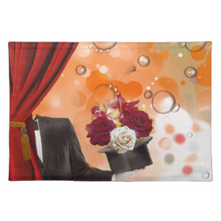 Magic flowers for a very special person. placemat