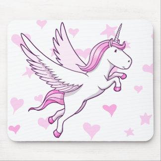 Magic Flying Pegasus Unicorn  Mouse Pad