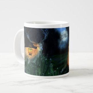 Magic Forest 20 Oz Large Ceramic Coffee Mug Jumbo Mug