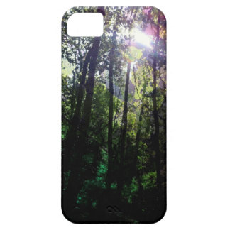 Magic forest lens flare tree photography iPhone 5 cover
