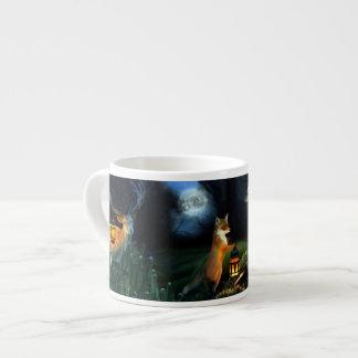 Magic Forest Wildlife 6 Oz Ceramic Espresso Cup