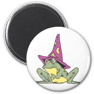 Magic Frog 6 Cm Round Magnet