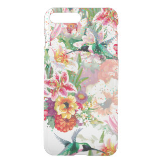 Magic Garden Humming-bird Floral Spring iPhone 8 Plus/7 Plus Case